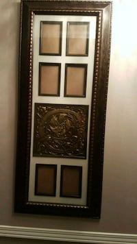 Collage picture Frame with the inital C in the mid Whitchurch-Stouffville