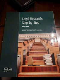 Legal Research: Step by Step.