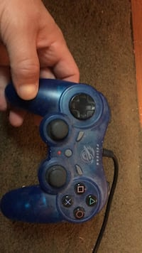 blue and black Sony PS3 controller Middletown, 10940