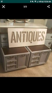 NIGHT STANDS GRAY ONLY  515 mi