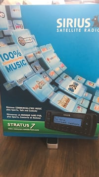 Sirius satellite radio stratus 7.  20$ if you come and pick it up.  Ready to go! Toronto, M6N 4G2