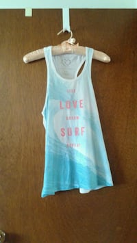 white and blue tank top Winnipeg, R2C 3K4