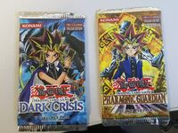 two Yu-Gi-Oh label packs