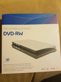 External DVD rw CD drive new