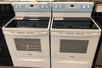 New whirlpool glass top stove 10% off