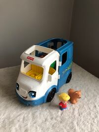 Fisher Price Little People Camper RV Camping Van Play Set