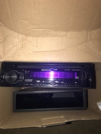 black Kenwood 1 din head unit with CD player in box Costa Mesa, 92627