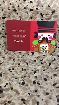 Hi I have winners gift card has balance of $225.99 selling for $200 prefer to meet winners at laird or college park