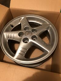 Set of GM 5 lug rims, came off Pontiac but will fit other models. Troy, 45373