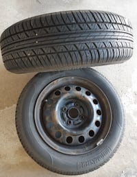 175/65R14 tires and rims (Summer tires)