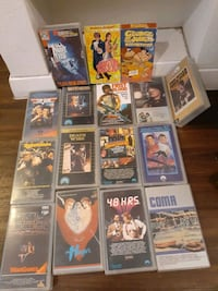 VHS CLASSIC AND DVD