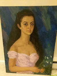 Young Lady in Pink Dress New Market, 21774