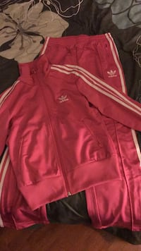 Pink Adidas Tracksuit: Size Small Edmonton, T5Z 3A7