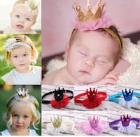 Adorable Crown Wrap Headband - So comfy and cute! pink available! Regina, S4X 3B6