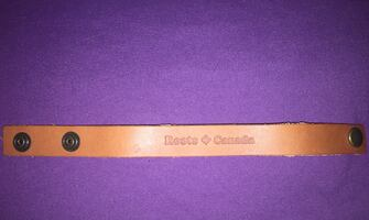 Roots Canada Leather Bracelet