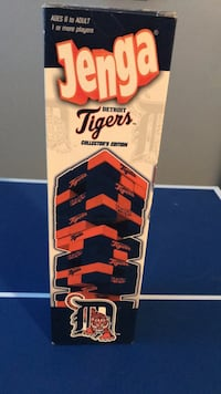 Jenga Detroit Tigers Limited Edition game Chatham, N7L 2G1