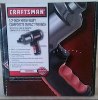 CRAFTSMAN 1/2 INCH HEY DUTY COMPOSITE IMPACT WRENCH