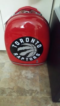 Brand new Toronto Raptors luggage bag with tags still on