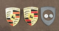 PORSCHE HOOD EMBLEMS - NEW & USED - READ AD FOR INFO