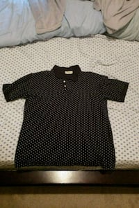 black and white polka dot polo shirt Woodbridge, 22193