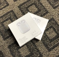 Brandnew Apple Airpods series 2 with wireless charging case