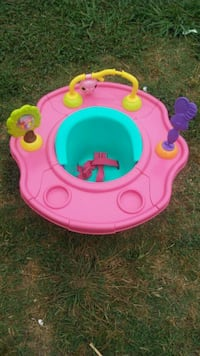baby's pink and blue activity saucer Austin, 78754