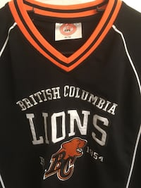 BC Lions men's pullover jersey