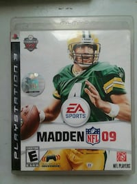 Sony PS3 Madden NFL 09 case