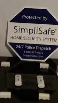 SimpliSafe Home Security Sensors