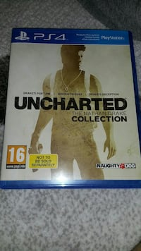 Uncharted Nathan Drake Collection PS4 oyun kutusu