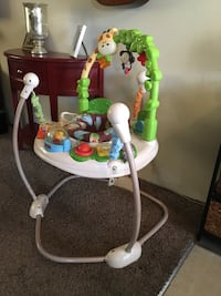 baby's white and green jumperoo Downey, 90241