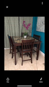 Bran new table with 4 chairs Little Rock, 72204