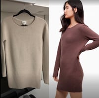 WILFRED Campanule Dress in Heather Bone(NEW) Vancouver
