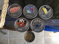 Limited Edition Pewter NHL Coins Belleville, K8P 5N4