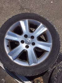 "19"" Dodge rims and tires Barrie, L4N 2K2"
