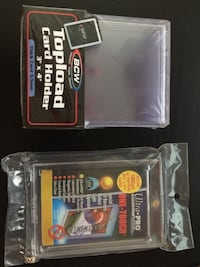 Top load card holders and ultra pro one touch case. Both in bulk Edmonton, T6H