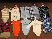 toddler's assorted clothes 549 km