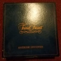 Trivial Pursuit Master Game Genuis Edition.