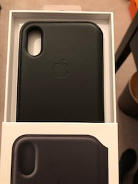 Brand New Apple Leather Folio for iPhone X