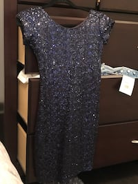 Mini sequin blue dress from dash New York (with tags) Toronto, M9C 3C6