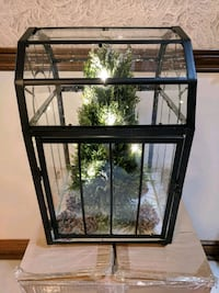 Christmas tree in glass box Whitchurch-Stouffville