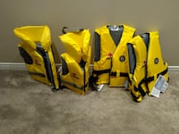 "Brand New ""Mustang Survival"" Personal Flotation Devices Ottawa"