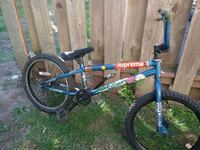 blue and black BMX bike Bremerton, 98310