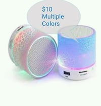 pink and blue portable speaker Pittsburgh, 15227
