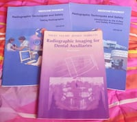 Set of 3 Dental Radiography Textbooks Reisterstown