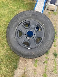Spare tire off 2015 ram 2500 Burnaby, V5C 0G5