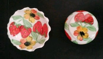 Mediterranean Hand-Painted Porcelain Bowls