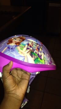 Sofia The First bicycle helmet