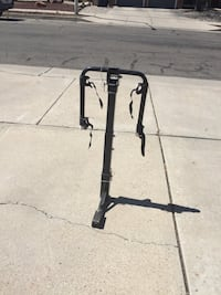 Bicycle rack for two bikes fits 2 inch hitch