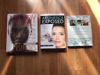 8 month old Esthetician/Spa Management Textbooks from Humber. Xposted Mavis and Dundas or Etobicoke Toronto, M8V 3Z3